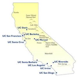 UC Campus Map
